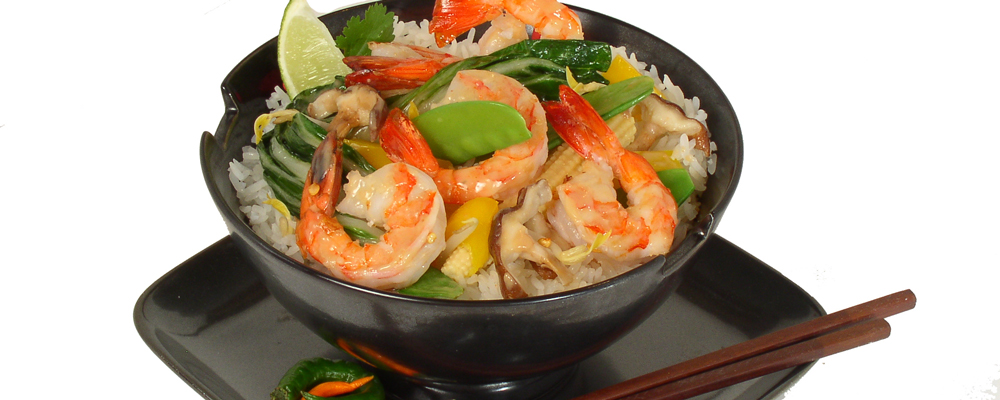 South West Shrimp Stir Fry