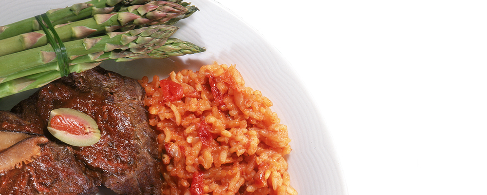 Risotto with Beef Tenderloin