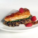 Raspberry Chicken with Wild Rice and Mushrooms