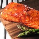 Cedar Planked Maple Salmon